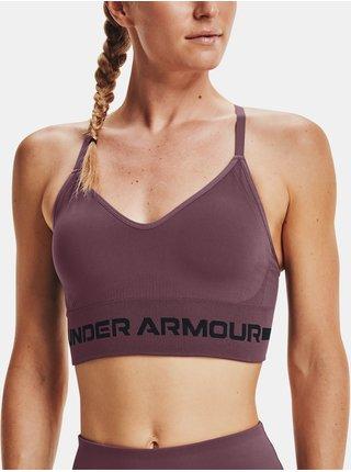 Podprsenka Under Armour UA Seamless Low Long Bra- fialová