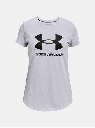 Tričko Under Armour Live Sportstyle Graphic SS- šedá