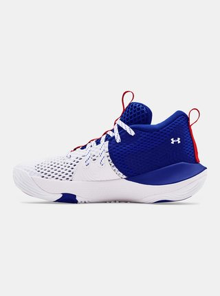 Boty Under Armour GS Embiid 1-WHT