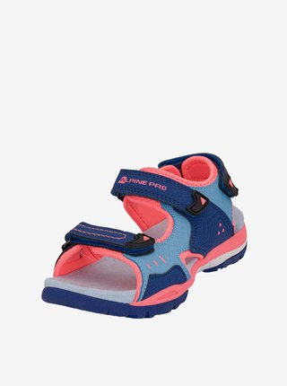 Dětské obuv letní ALPINE PRO Gereto modrá