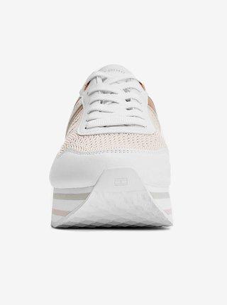 Tommy Hilfiger tenisky na platforme Knitted Flatform Sneaker