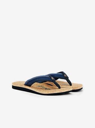 Tommy Hilfiger modré žabky Gradient Tommy Beach Sandal