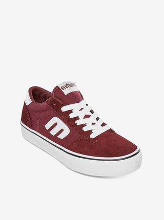 Etnies Kids Calli-Vulc burgundy letní boty dětské - růžová