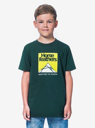 Horsefeathers LEX JUNGLE GREEN dětské triko s krátkým rukávem - zelená