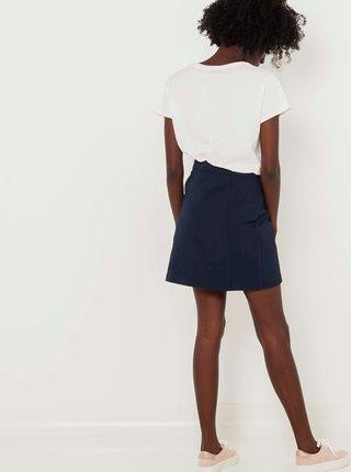 Tmavě modrá sukně CAMAIEU