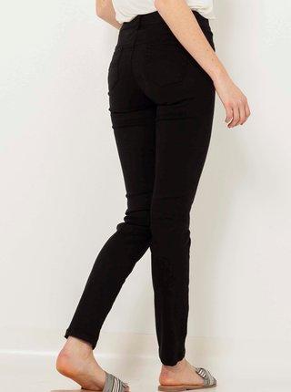 Černé push up slim fit džíny CAMAIEU