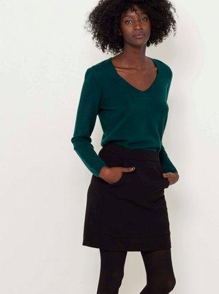 Černá krátká sukně CAMAIEU