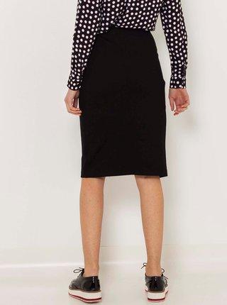 Černá překládaná sukně CAMAIEU