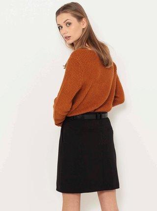 Černá sukně s kapsami CAMAIEU