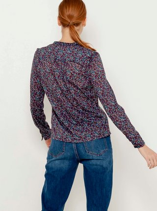 Blúzky pre ženy CAMAIEU - fialová