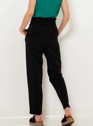 Černé straight fit kalhoty CAMAIEU