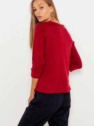 Kardigany pre ženy CAMAIEU - červená