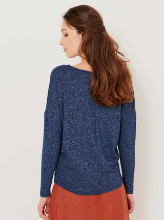 Tmavě modré volné tričko CAMAIEU
