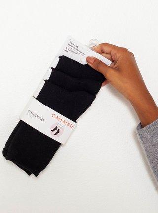 Ponožky pre ženy CAMAIEU - čierna