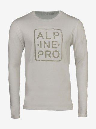 Pánské triko ALPINE PRO BRIGER bílá