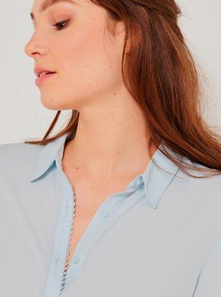 Světle modrá košile CAMAIEU