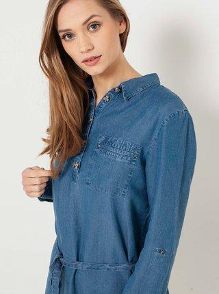 Šaty na denné nosenie pre ženy CAMAIEU - modrá
