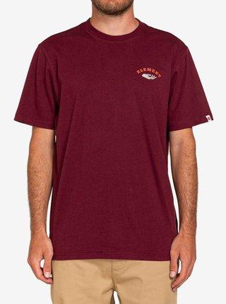 Element SPERA VINTAGE RED pánské triko s krátkým rukávem - růžová