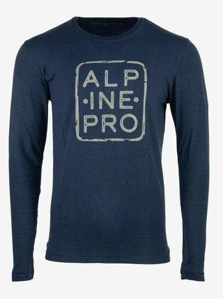 Pánské triko ALPINE PRO BRIGER modrá