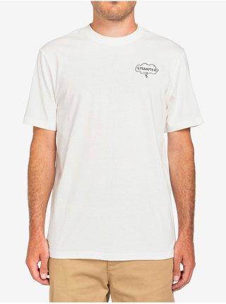 Element PEANUTS SLIDE off white pánské triko s krátkým rukávem - bílá