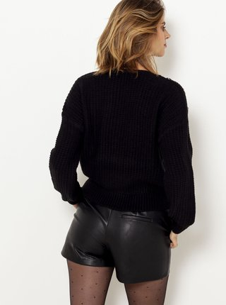 Čierny sveter CAMAIEU