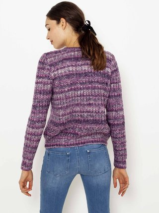 Fialový sveter CAMAIEU