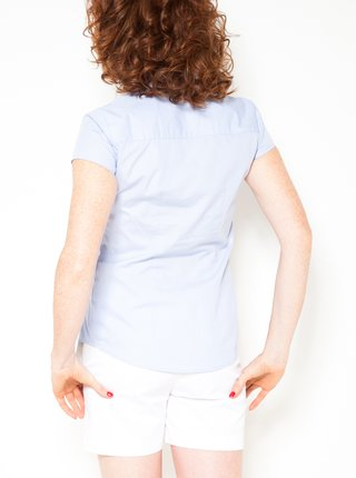 Svetlomodrá košeľa CAMAIEU