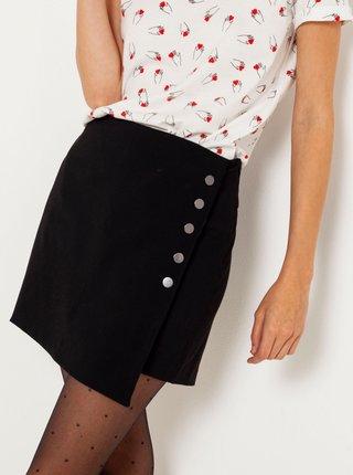 Čierna sukňa/kraťasy CAMAIEU