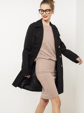 Čierny kabát CAMAIEU