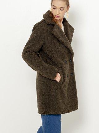 Kaki zimný kabát CAMAIEU