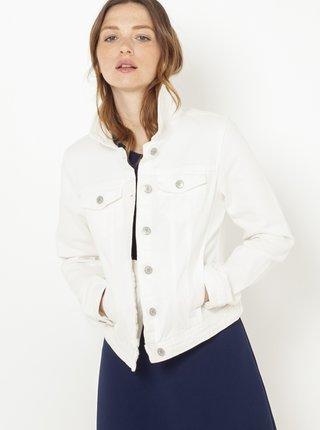 Biela rifľová bunda CAMAIEU
