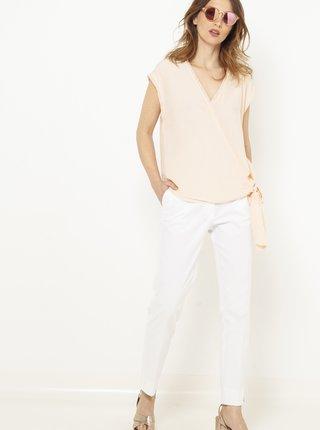 Bílé skinny fit kalhoty CAMAIEU