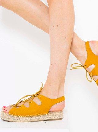Žluté sandály CAMAIEU