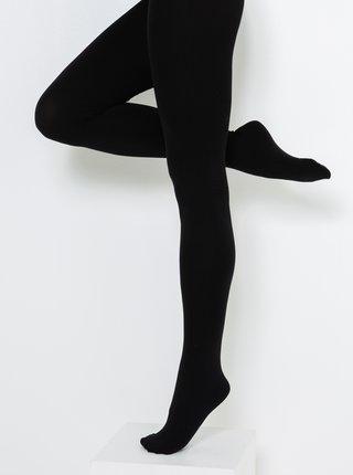 Černé punčochové kalhoty CAMAIEU