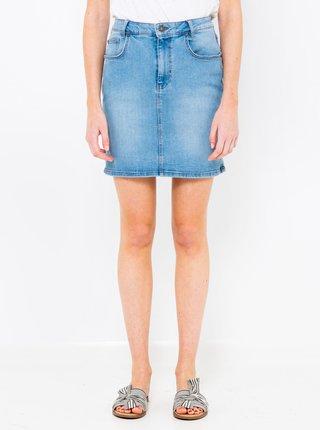 Modrá džínová sukně CAMAIEU
