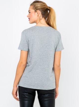 Šedé basic tričko CAMAIEU