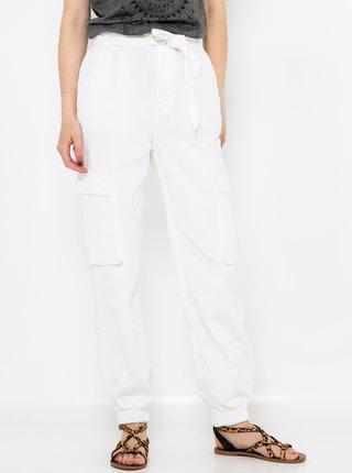 Bílé kalhoty se zavazováním CAMAIEU