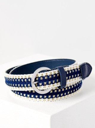 Bílo-modrý pásek CAMAIEU