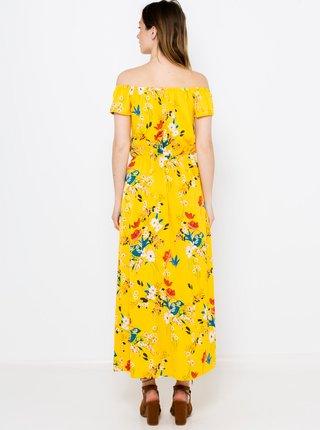 Žlutý květovaný overal se sukní CAMAIEU