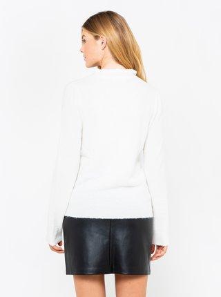 Bílý svetr s příměsí vlny CAMAIEU
