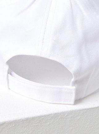 Biela šiltovka s výšivkou CAMAIEU