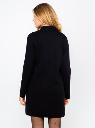 Černý lehký kabát CAMAIEU