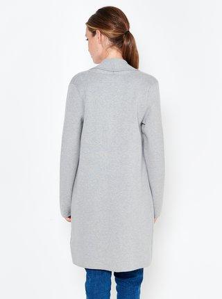 Šedý ľahký kabát CAMAIEU