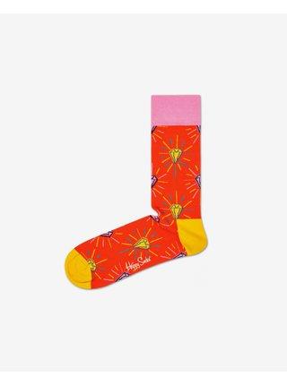 pre mužov Happy Socks - oranžová