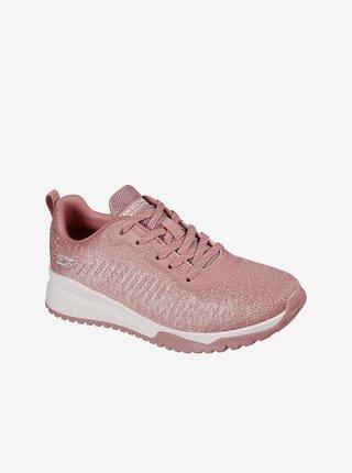 Skechers růžové tenisky Bobs Squad 3 Blush