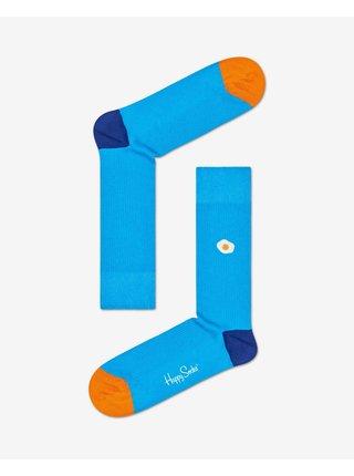 Ribb Embroidery Sunny Side Up Ponožky Happy Socks
