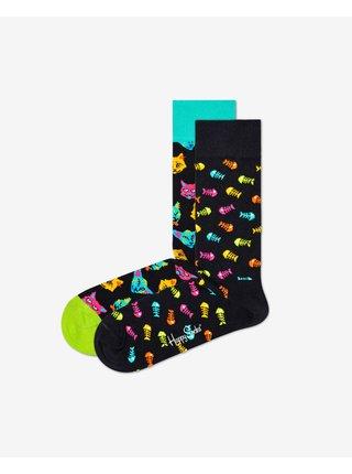Cat Gift Box Ponožky 2 páry Happy Socks