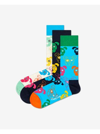 Dog Gift Box Ponožky 3 páry Happy Socks
