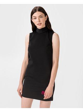 Spoločenské šaty pre ženy Versace Jeans Couture - čierna
