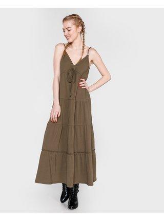 Šaty na denné nosenie pre ženy Replay - zelená